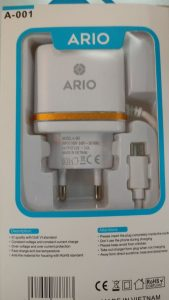 Ario A001 fast charger